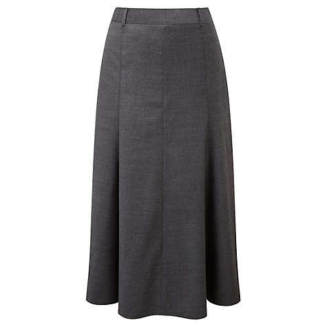 Buy Viyella Riding Skirt, Graphite Online at johnlewis.com