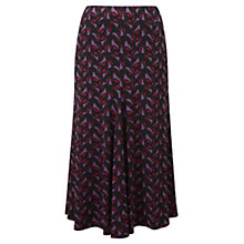 Buy Viyella Deco Floral Jersey Skirt, Black Online at johnlewis.com