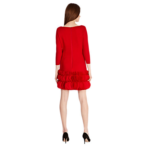 Buy Coast Jazzy Dress, Red Online at johnlewis.com