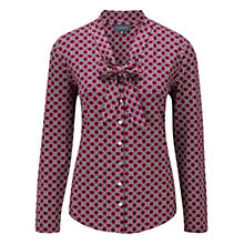 Buy Viyella Mini Deco Blouse, Fuchsia Online at johnlewis.com