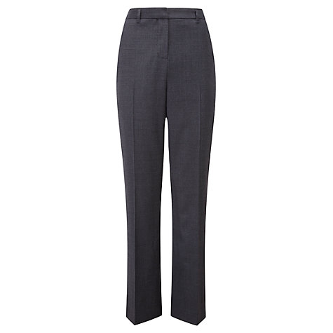 Buy Viyella Petite Puppytooth Trousers, Navy Online at johnlewis.com