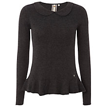 Buy White Stuff Apple Blossom Jumper, Dark Granite Online at johnlewis.com