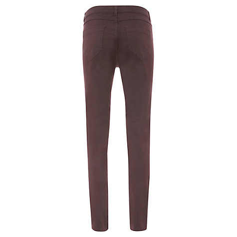 Buy Mint Velvet Triple Zip Jeans, Red Online at johnlewis.com