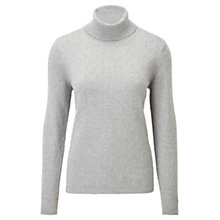 Buy Viyella Bobble Roll Jumper, Grey Marl Online at johnlewis.com