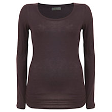 Buy Mint Velvet Sheer Layering T-Shirt, Red Online at johnlewis.com