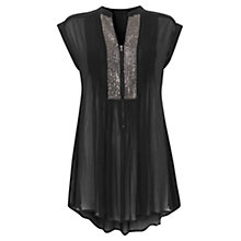 Buy Mint Velvet Sequin Front Tunic Online at johnlewis.com