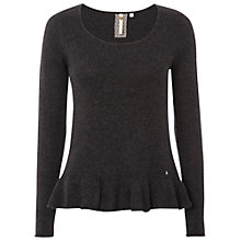 Buy White Stuff Cherry Blossom Jumper, Dark Granite Online at johnlewis.com