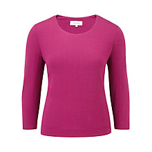 Buy Viyella Diamond Textured Top, Fuchsia Online at johnlewis.com