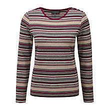 Buy Viyella Multi Top, Fuchsia Online at johnlewis.com