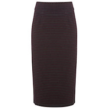 Buy White Stuff Lexington Midi Skirt, Dark Aubergine Online at johnlewis.com