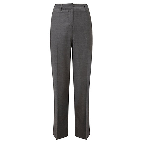 Buy Viyella Marl Flannel Trousers, Graphite Online at johnlewis.com