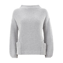 Buy Mint Velvet Ribbed Pocket Jumper Online at johnlewis.com