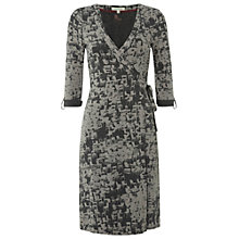 Buy White Stuff Soho Wrap Dress, Dark Granite Online at johnlewis.com