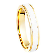 Buy Astley Clarke Colour Theory Enamel 18ct Gold Vermeil Stacking Ring Online at johnlewis.com