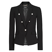 Buy Mango Emblem Button Blazer Online at johnlewis.com