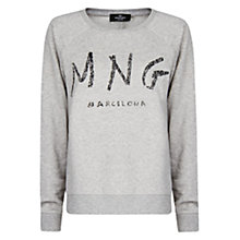 Buy Mango Barcelona Sweatshirt, Medium Grey Online at johnlewis.com