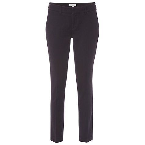Buy White Stuff Sandrea Slim Jeans, Aubergine Online at johnlewis.com