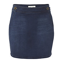 Buy White Stuff Beta Mini Skirt, Denim Online at johnlewis.com
