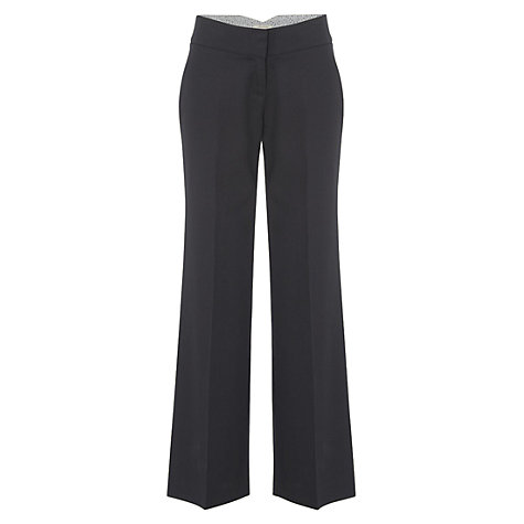 Buy White Stuff Bakota Venus Trousers, Navy Online at johnlewis.com