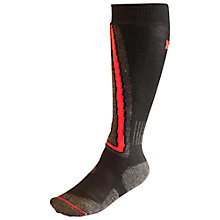 Buy Helly Hansen Ski Slalom Socks, Black/Red Online at johnlewis.com