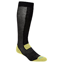 Buy Helly Hansen Ski Downhill Socks, Black/Lime Online at johnlewis.com