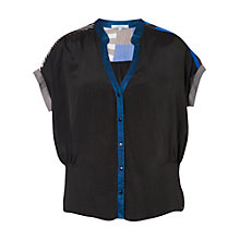 Buy Chesca Sunray Jean Shirt, Black/Blue Online at johnlewis.com