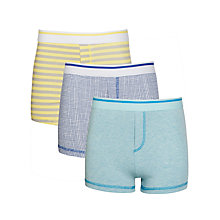 Buy Kin by John Lewis Boys' Patterned Cotton Trunks, Multi Online at johnlewis.com
