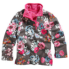 Buy Little Joule Cowdray Floral Jumper, Praline Online at johnlewis.com
