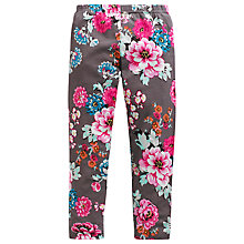 Buy Little Joule DeeDee Floral Leggings, Praline Online at johnlewis.com