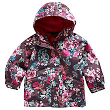 Buy Little Joule Kirsty Floral Coat, Praline Online at johnlewis.com