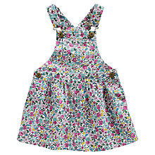Buy Little Joule Danielle Dungaree Pinafore Dress, Ditsy Online at johnlewis.com