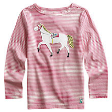 Buy Little Joule Horse Top, Ditsy Online at johnlewis.com
