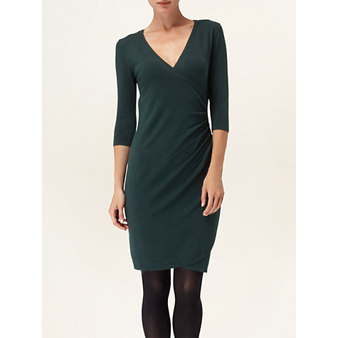 Buy Phase Eight Maisie Wrap Dress, Forest Online at johnlewis.com