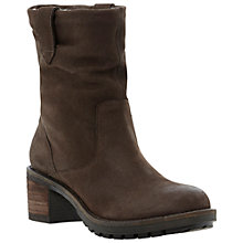 Buy Dune Peeps Ankle Boots,Brown Online at johnlewis.com