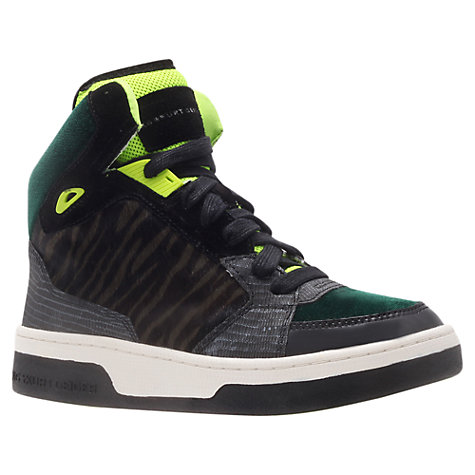Buy KG by Kurt Geiger Loud High-Top Trainers Online at johnlewis.com