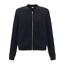 Buy Kin by John Lewis Quilted Bomber Jacket, Navy Online at johnlewis.com