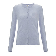 Buy Kin by John Lewis Cotton Crew Cardigan Online at johnlewis.com