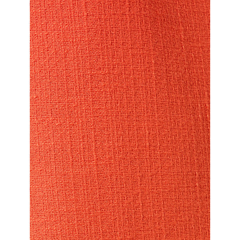 Buy Kin by John Lewis Tweed Cocoon Dress, Orange Online at johnlewis.com