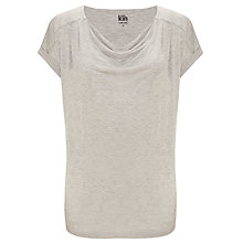 Buy Kin by John Lewis Cowl Neck Seamed T-Shirt Online at johnlewis.com