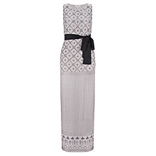 Buy Somerset by Alice Temperley Beaded Dress, Dove Online at johnlewis.com