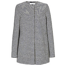 Buy COLLECTION by John Lewis Jazmine Striped Jacket, Navy/Vanilla Online at johnlewis.com