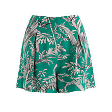 Buy Somerset by Alice Temperley Palm Print Shorts, Green Online at johnlewis.com