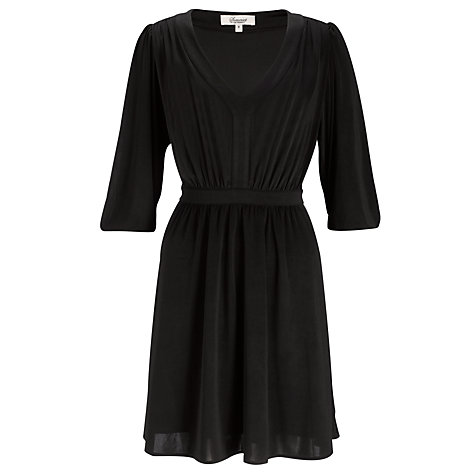 Buy Somerset by Alice Temperley Jersey Dress, Black Online at johnlewis.com