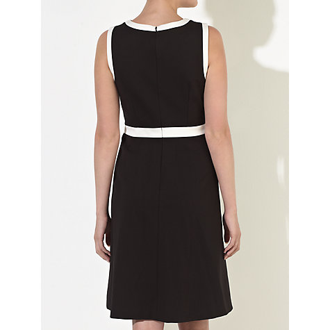 Buy COLLECTION by John Lewis Ponte Dress, Black/Cream Online at johnlewis.com