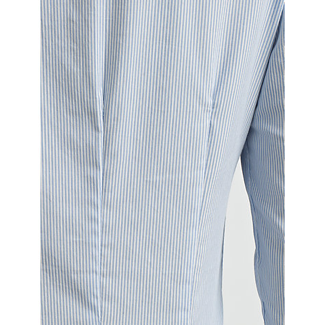 Buy COLLECTION by John Lewis Esther Striped Shirt, Marine/White Online at johnlewis.com