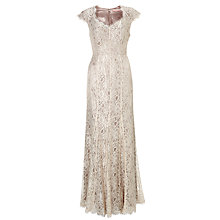 Buy John Lewis Perla Lace Dress, Champagne Online at johnlewis.com
