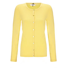 Buy COLLECTION by John Lewis Alice Long Sleeved Cardigan, Maize Online at johnlewis.com
