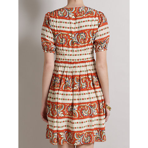 Buy Somerset by Alice Temperley Tapestry Dress, Watermelon Online at johnlewis.com