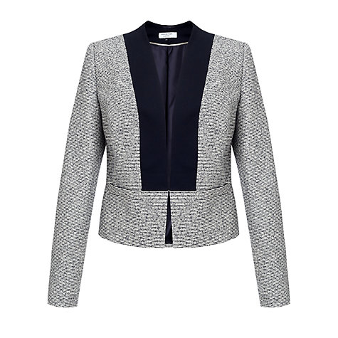Buy COLLECTION by John Lewis Amaris Tweed Jacket, Navy Online at johnlewis.com