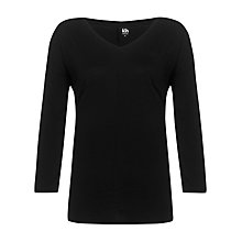 Buy Kin by John Lewis Seamed V-Neck Slub T-Shirt Online at johnlewis.com
